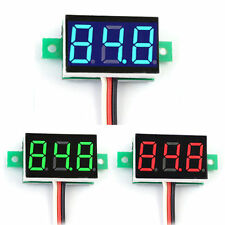 Mini DC 0-100V LED 3-Digital Diaplay Voltmeter Voltage Panel Meter with 3 Wires