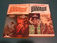 DOC SAVAGE - KENNETH ROBESON - TWO IN ONE BOOKS ( No.105+6, 125+6) - LOT OF 2