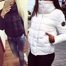 Women Winter Warm Down Jacket Coat Hooded High Collar Outerwear Windbreaker New
