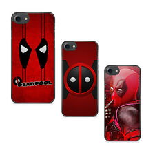 Comic Superhero Deadpool Face Soft Rubber Case Cover For iPhone 5s 6 6s 7 Plus