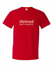 iRetired nap for it funny mens t shirt  retirement gift for retired man work