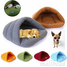 Pet Cat Dog Nest Bed Puppy Soft Winter Warm Cave Sleeping Bag Mat Pad Hot Sale
