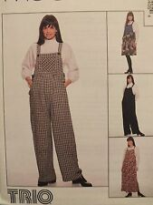 Easy McCALLS 7840 MS Maternity Jumpsuit & Jumper PATTERN 10-12-14/12-14-16-18 UC