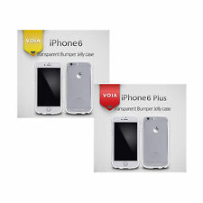 VOIA iPhone6 / 6 PLUS Transparent Bumper Jelly Case