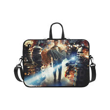 Doctor Who Water Resistant Neoprene Laptop Sleeve Computer Bag Twin Sides