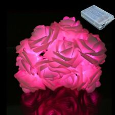 2M Roses Battery LED String Light Christmas/Wedding/Party Decoration Lights deco