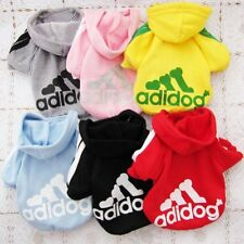 US Pet Coat Puppy Dog Cat Clothes Hoodie Sweater Costumes Christmas Gift