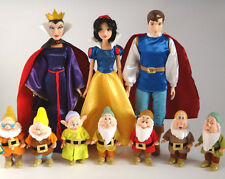Disney Store Princess Doll,Snow White/Prince Florian/Seven Dwarfs/Forest Playset