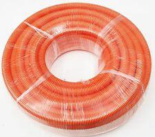 ELECTRICAL CORRUGATED CABLE CONDUIT ORANGE 20mm X 25M HEAVY DUTY BULK PRICE