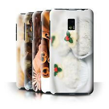 STUFF4 Back Case/Cover/Skin for LG Optimus 2X/P990/Christmas Food