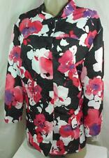 Alfred Dunner Plus Size Blazer Jacket Multi Color 3/4 Sleeve Blouse Size 20W New