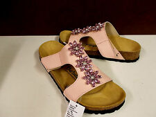 Betula Licensed by Birkenstock Pink Sandal With Crystals