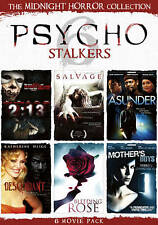 Midnight Horror Collection: Psycho Stalkers (DVD, 2011, 2-Disc Set)