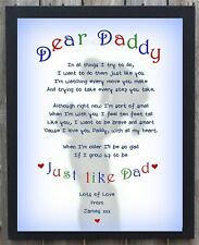 PERSONALISED Christmas Gift for Dad Daddy Grandad Father Him Men Xmas Present DD