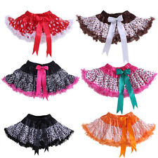 Baby Toddler Girls Polka Dot Party Dance Tutu Skirt Pettiskirt Kids Fluffy Skirt