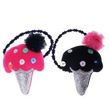 Lovely Ice Cream Hair Rope Tie Headwear Elastic Rubber Band Girl Ponytail Holder
