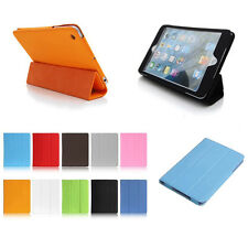 Leather Skin Case Smart Cover Pouch Protector Kickstand For Apple iPad Mini 3 2