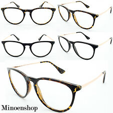 Women's Mens Vtg Geek Nerd Clear Lens Retro Sqaure Cat Glasses Designer Trendy