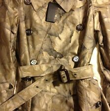 NWT Burberry Prorsum Ladies Silk Patterned Trench Size 12/ 46 Italy $4750 Retail