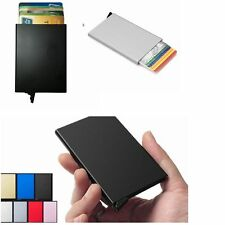 Luxury Aluminum Slim ID Credit Card RFID Protector Holder Purse Wallet Women Men