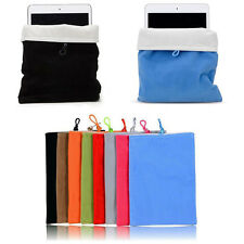 Soft Pouch Case Cover Bag For Apple iPad Mini 3 2 Retina Samsung Galaxy Tab 7.0