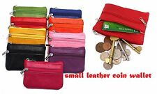 High Quality Wallet Soft Black Leather Credit Card Holder Coin Pouch Purse clrCn