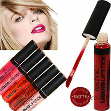 Technic Liquid Lipstick Long Lasting Matte Colours Pink Red Nude Lips Gloss Lips