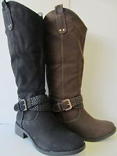 Ladies Black/Coffee CoCo Boots UK3-8 L9340