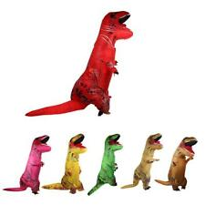 T-REX Inflatable Dinosaur Costume Adult Halloween Christmas Blownup Fancy Outfit