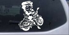Betty Boop On Motorcycle With Dog Car Truck Window Laptop Decal Sticker 6X5