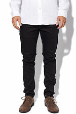 New G-STAR Mens 3301 Slim Raw Jean Black Raw