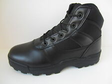 Mens Black Leather Lace Up Dura-Max Ankle Boots UK Sizes 6.5 - 11.5 4205