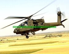 U.S. Army AH-64D Longbow Apache Military Photo Helicopter AH 64 Color Print