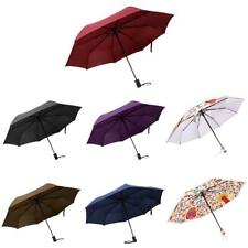 Portable Auto Open Close Folding Compact Windproof Anti-UV Sun Rain Umbrella