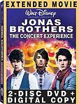 JONAS BROTHERS CONCERT EXPERIENCE (DVD, 2009, 2-Disc Set,) BNISW SEE BELOW FOR**