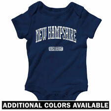 New Hampshire Represent One Piece - Baby Infant Creeper Romper NB-24M - Wildcats