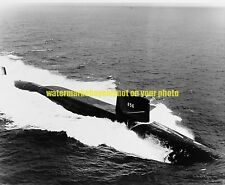 USN Sub USS George Washington Carver SSBN-656 Photo Military  Black n White 1966