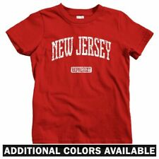 New Jersey Represent Kids T-shirt - Baby Toddler Youth Tee - Gift Devils Newark
