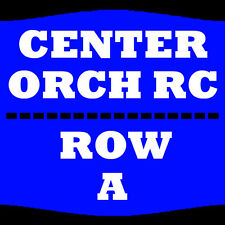 2 TIX BRIAN REGAN 4/23 ORCH RC ROW A TIVOLI THEATRE CHATTANOOGA