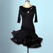 NEW Women Latin Dance Dress Chacha Salsa Rumba Samba Ballroom Competition L052-3
