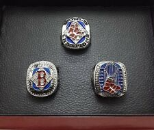 A Set 2004 2007 2013 Boston Red Sox World Series Championship ring New Year Gift