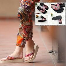 New Fashion High Heeled Women Beach Nude Slippers Sandals Flip Flops Hot Sale