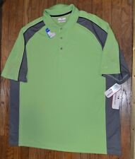 DriFlow Easy Care GRAND SLAM Performance Golf Shirt Big & Tall Wicking MSRP $60