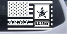 US American Flag Army Car or Truck Window Laptop Decal Sticker Military 10X15.7