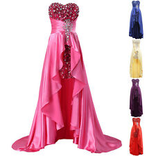 Luxury Long Evening Formal Party Cocktail Dress Bridesmaid Prom Gown Pageant New