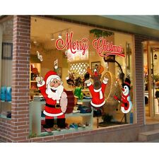 Chic DIY Christmas Wall stickers Window Decal Mural Vinyl Home Decor Removable