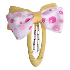 1pc Ribbon Lined Wrapped Covered Snap Clip Hair clip 50mm Baby Girl Toddler