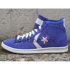 Scarpe Converse Star Player Pro Leather Vulc Mid 136963C woman baja blue