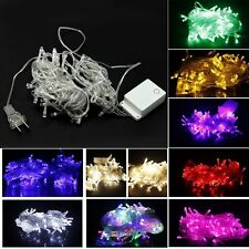10M 100 LED Waterproof Fairy String Garden Party Christmas Light Decoration