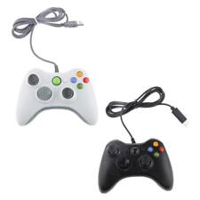 Joypad Game Controller Gamepad USB Wired Joystick for XP, Win7 PC White/Black